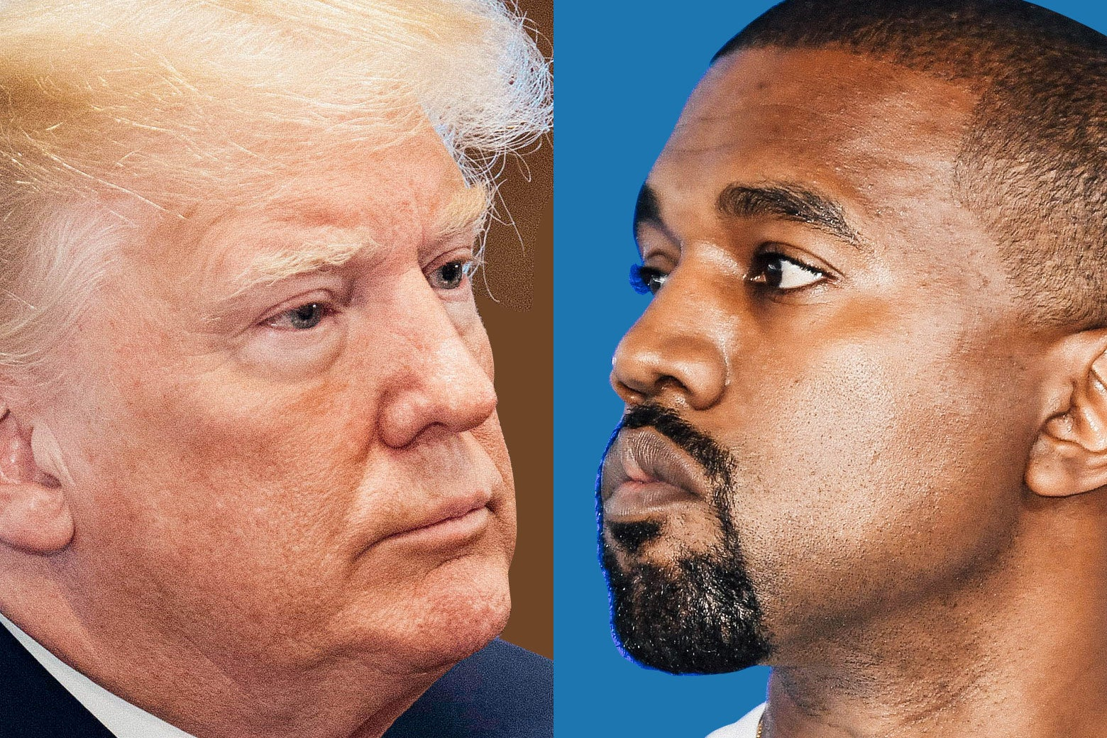 Trump and Kanye.