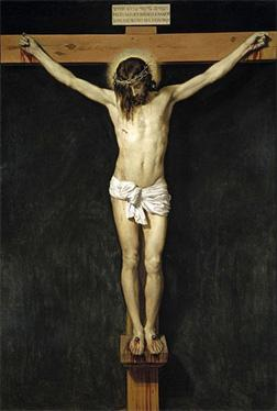 Christ's Crucifixion, by Diego Velázquez. Click image to expand.