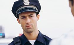 Confused policeman. Click image to expand.
