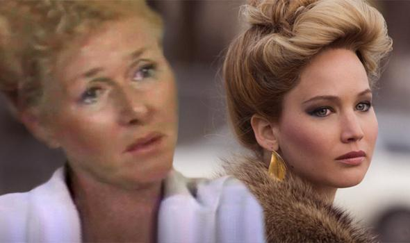 Still from 20/20, left, and from American Hustle.