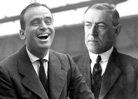 Douglas Fairbanks, Woodrow Wilson