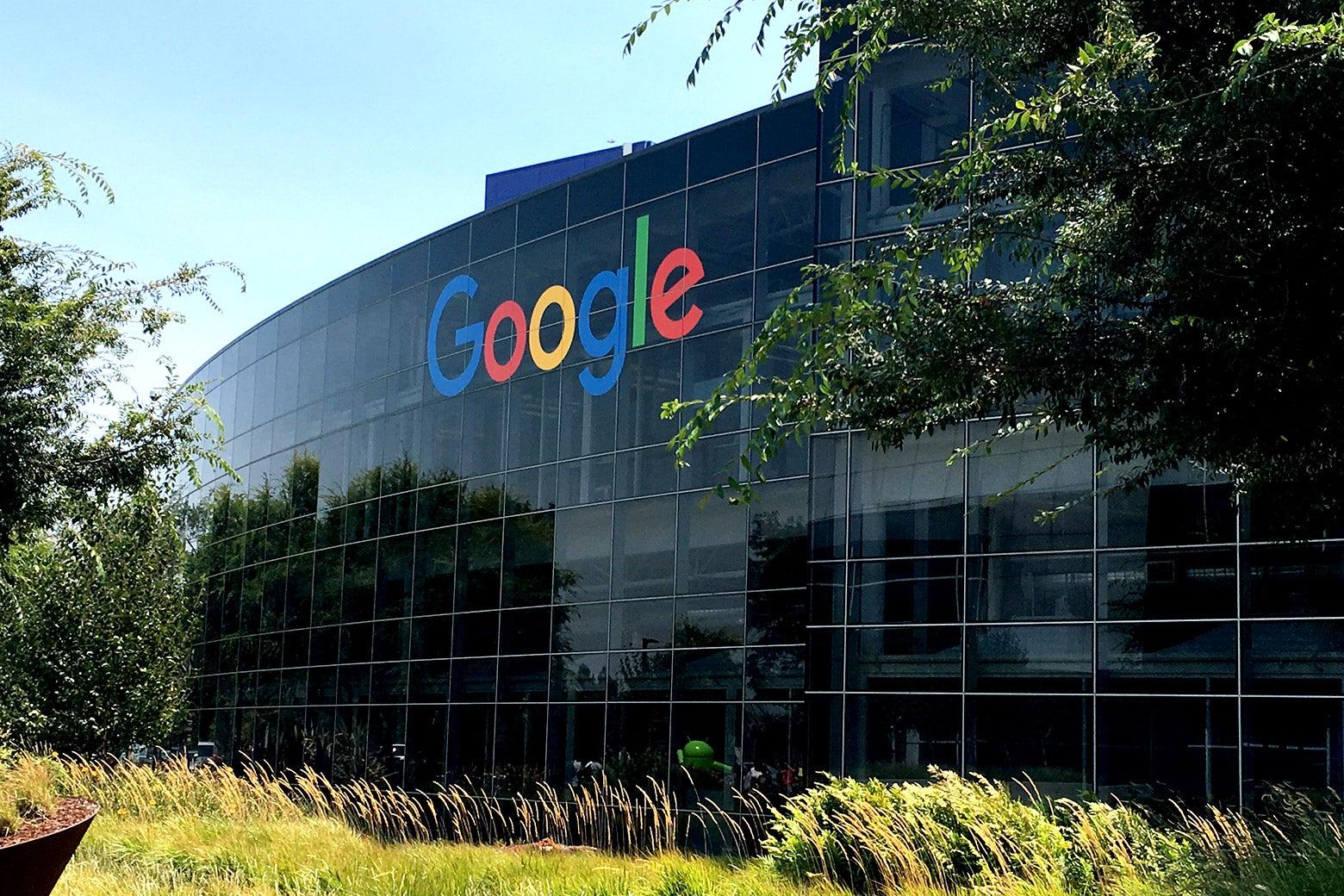 Googleplex in San Jose, California.