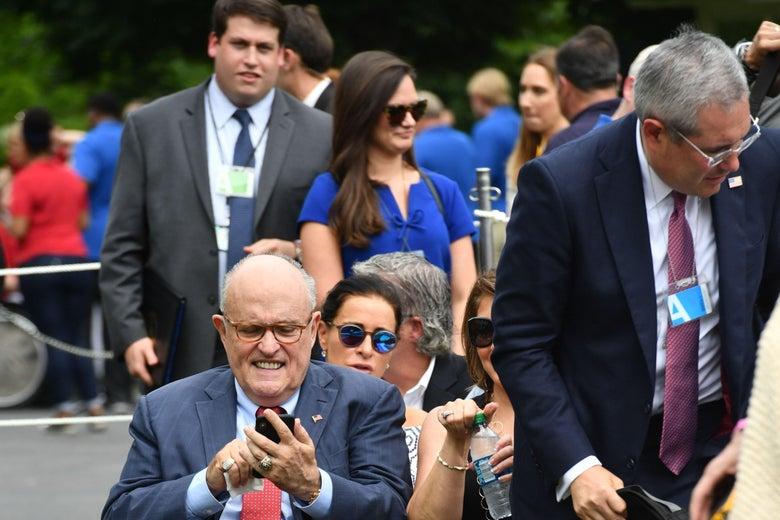 How to be a Giuliani Whisperer