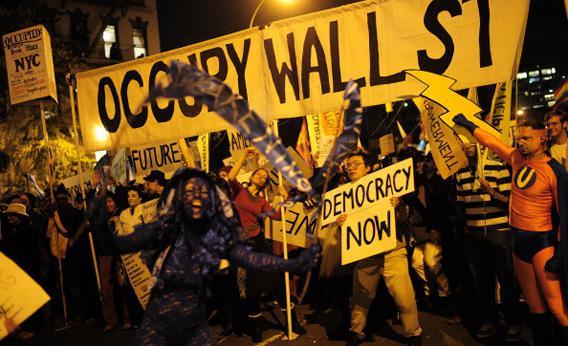 Occupy Wall Street members.