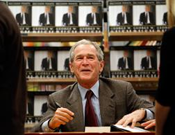 Former President George W. Bush. Click image to expand.