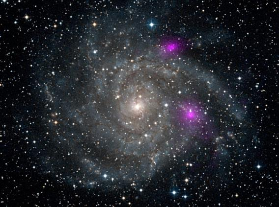 Black holes in the galaxy IC 342