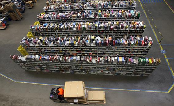 Amazon logistical center