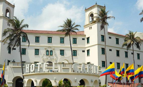 Hotel Caribe in Cartagena, Colombia.