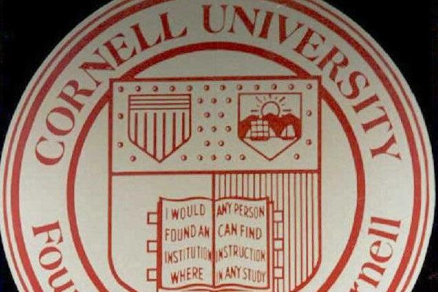 The Cornell University logo.