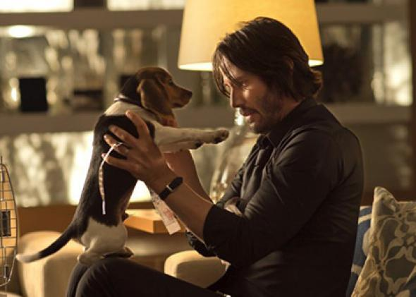 Keanu Reeves action movie John Wick, reviewed.