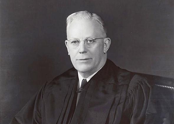 Chief Justice Earl Warren.
