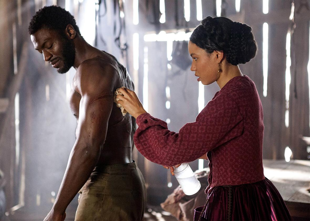 "Aldis Hodge and Jurnee Smollett-Bell star in ""Underground""."