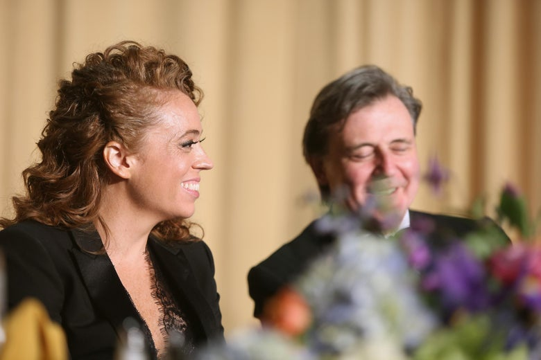 Michelle Wolf attends the 2018 White House Correspondents' Dinner.