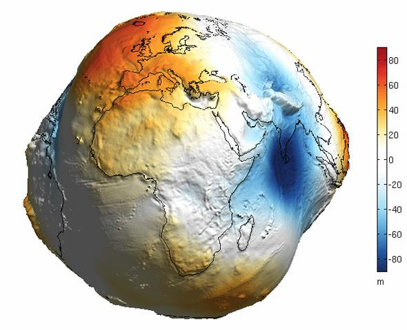 No, That's NOT What the Earth Would Look Like Without Water