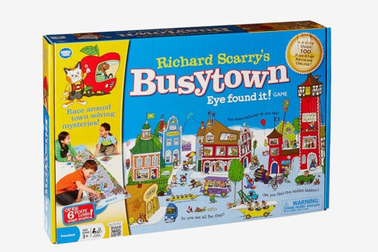 Busytown game.
