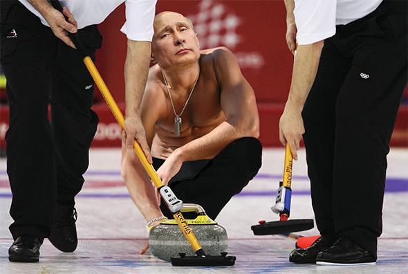 Vladimir Putin's Gold Medal Sweep of the Sochi Olympics