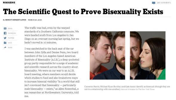 Секс про бисексуалов, оргазм