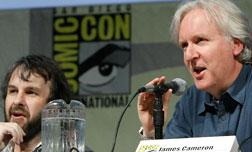 Peter Jackson and James Cameron