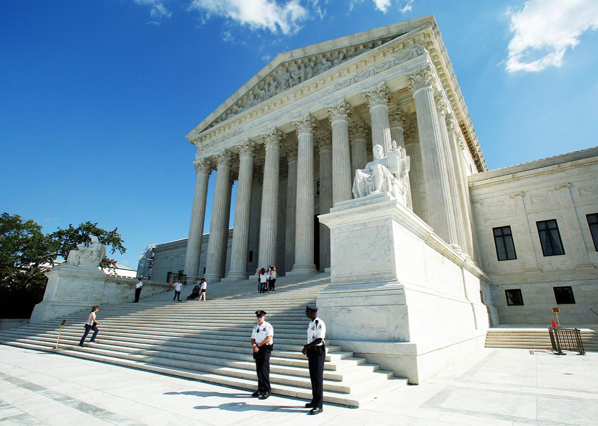 U.S. Supreme Court is seen in Washington, U.S., October 3, 2016.