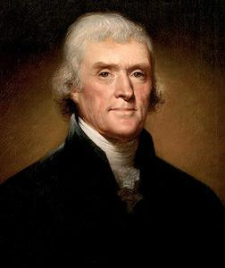 Thomas Jefferson. Click image to expand.