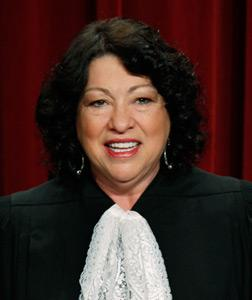 Justice Sonia Sotomayor. Click image to expand.
