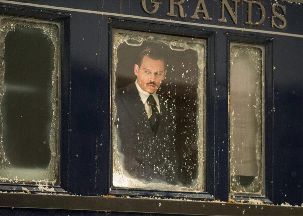 murder on the orient express movie vs book comparison johnny depp in murder on the orient express