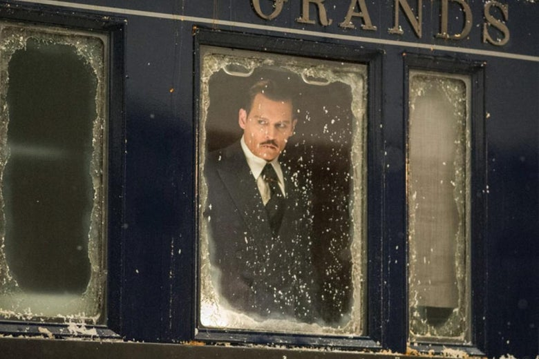 Johnny Depp in Murder on the Orient Express (2017)