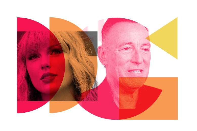 A collage of the two singer-songwriters.