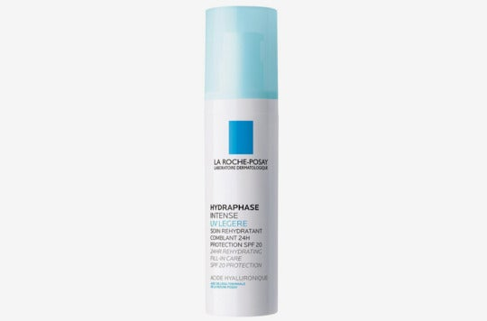 La Roche-Posay Hydraphase Intense 24-Hour Face Moisturizer With Hyaluronic Acid SPF 20.