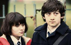 Craig Roberts and Yasmin Paige in Submarine. Click image to expand.