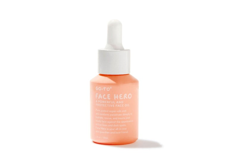 Face oil bottle