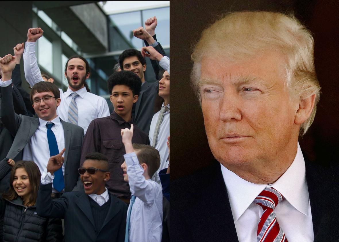 Our Children's Trust, Donald Trump
