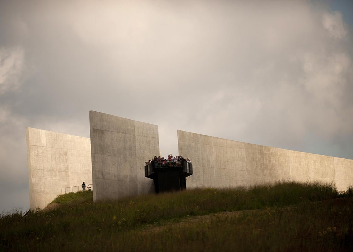 The Flight 93 National Memorial in Stoystown, Pennsylvania.