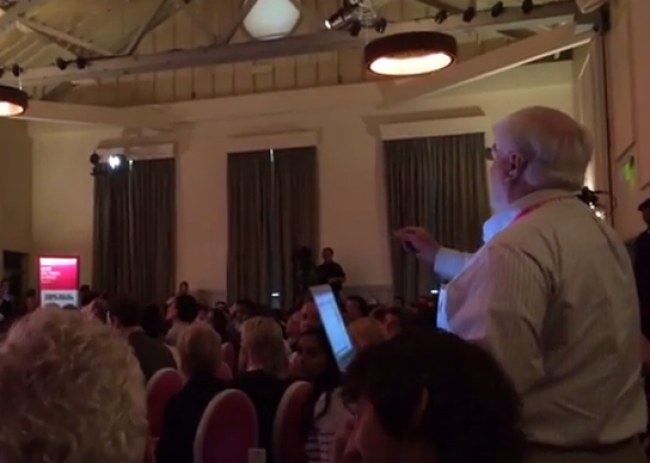 Tech Conference Turns Into Shouting Match About Inequality in Silicon Valley
