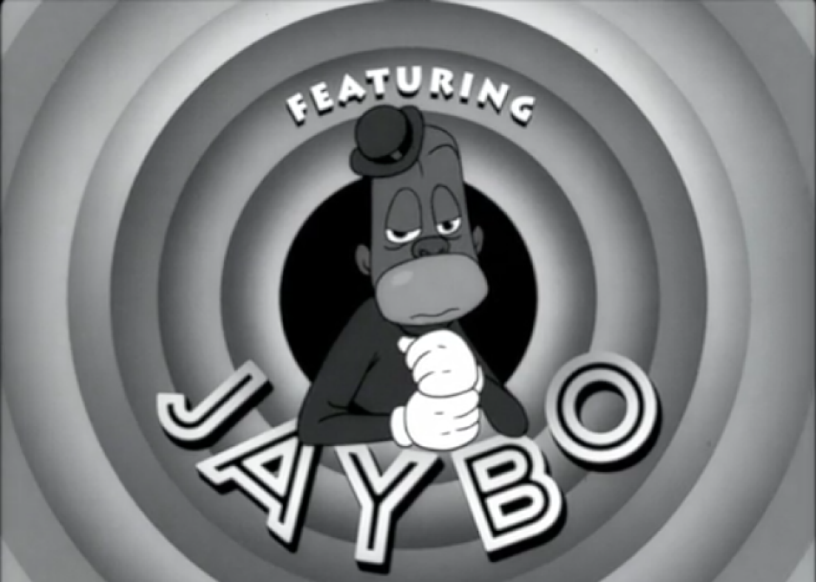 "The video for ""The Story of OJ"" depicts Jay Z amid  imagery inspired by old racist cartoons from Fleischer Studios, Warner Bros., Disney, and others."