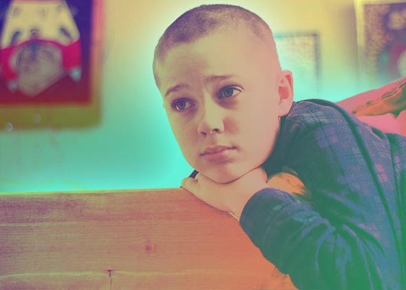 Ellar Coltrane in Boyhood (2014).
