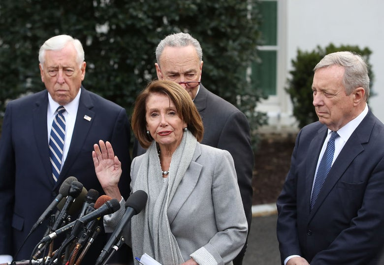 Credit Where It's Due: Democratic Leaders Have Not Caved Like a Bunch of Weenies on the Border Wall