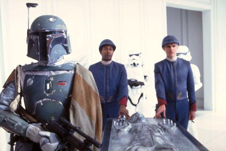Boba Fett, as seen in Empire Strikes Back