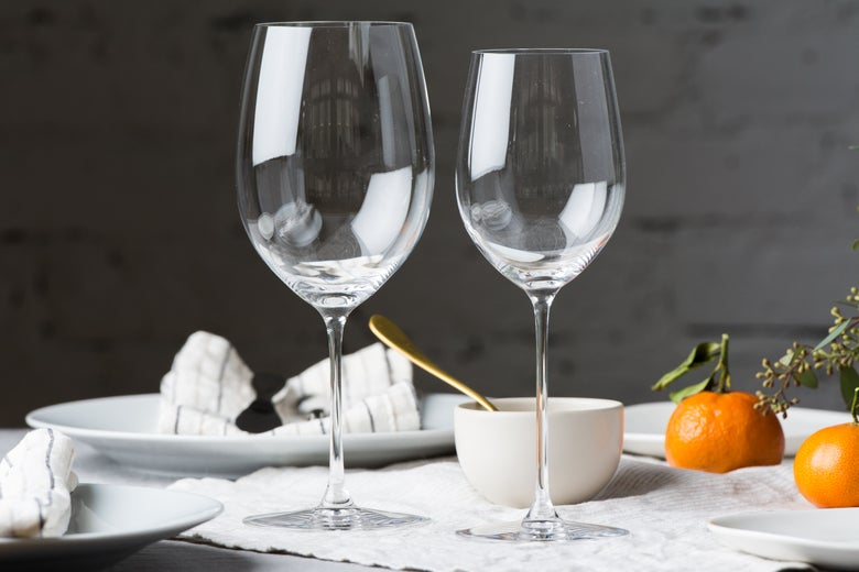 Riedel Veritas Cabernet/Merlot Glass and the Riedel Veritas Viognier/Chardonnay Glass