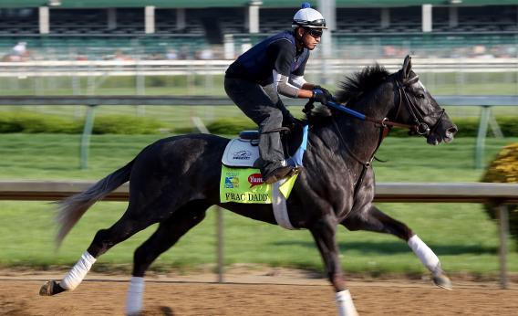 Frac Daddy will try to blast his way through the Kentucky Derby field.