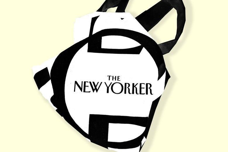 A New Yorker tote bag.