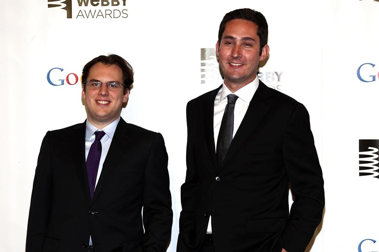 Mike Krieger and Kevin Systrom.