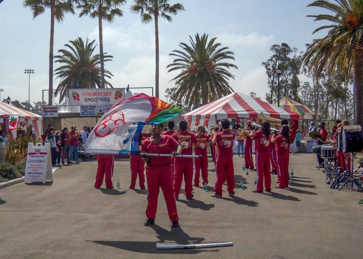 Oxnard, California's Strawberry Festival May 20, 2012.