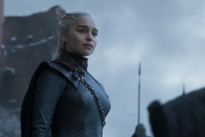 Khaleesi in the Game of Thrones finale.
