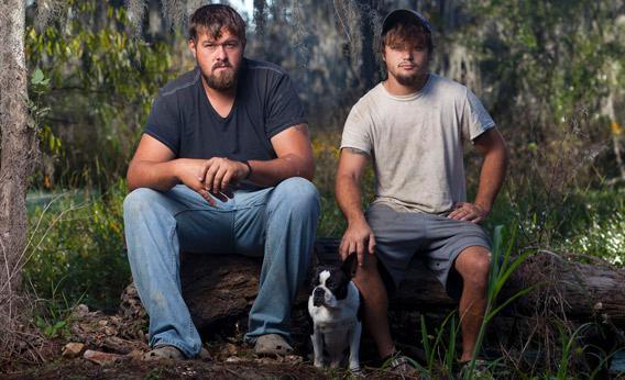 Blake McDonald and Austyn Yoches Swamp People.