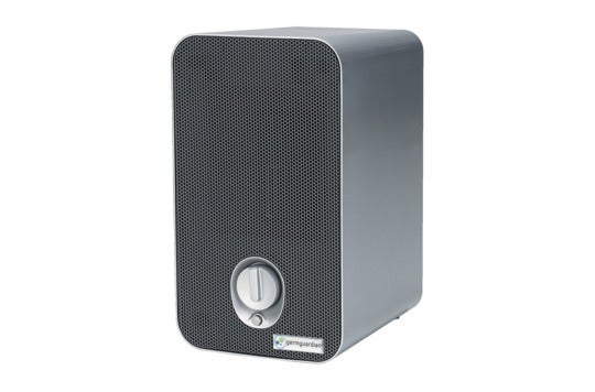 GermGuardian 3-in-1 air purifier with HEPA filter.
