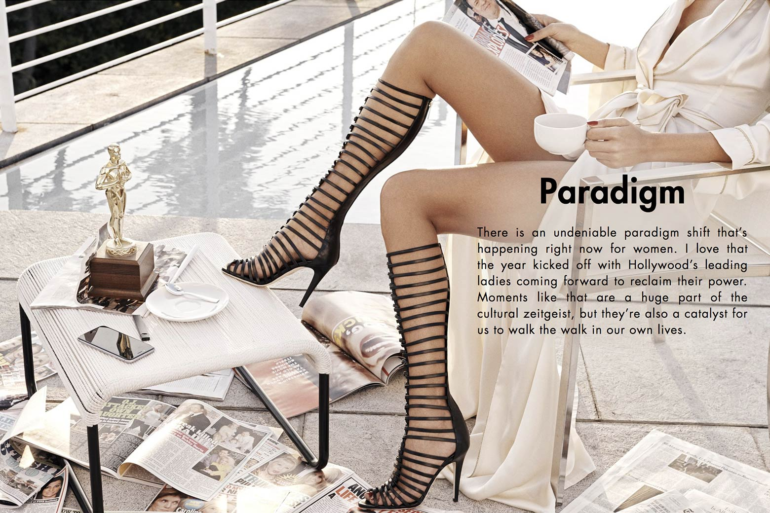 "Shoes from the Tamara Mellon ""Paradigm"" collection."