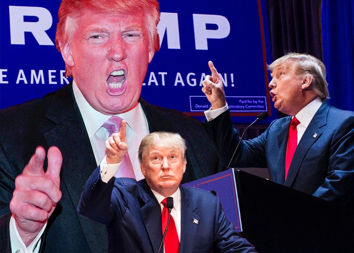 Business mogul Donald Trump.