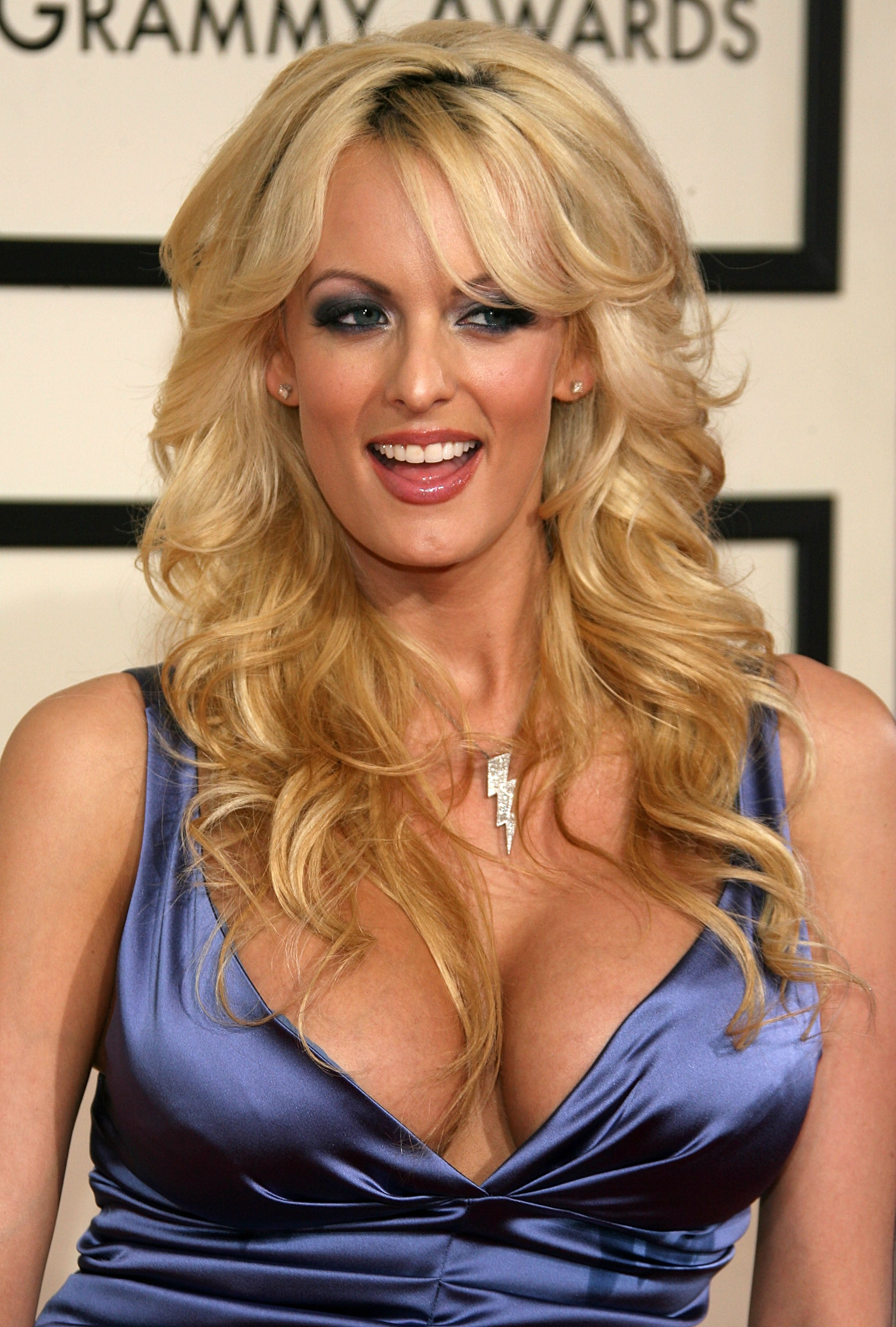 Stormy Daniels at the Grammys in Los Angeles in 2008.