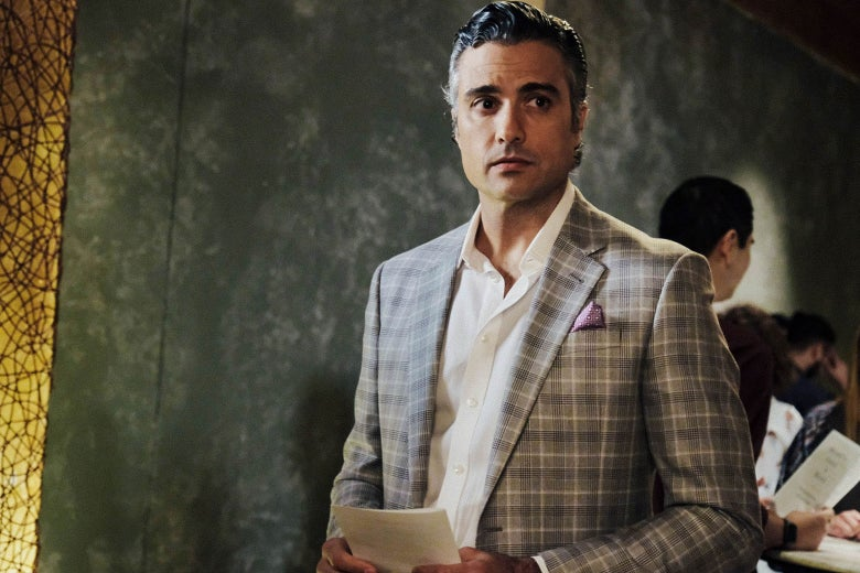 Jaime Camil in a scene from Jane the Virgin.